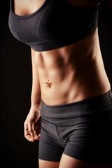 abdominal close-up