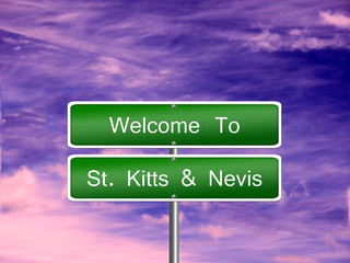 Saint Kitts Nevis Sign