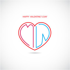 Happy valentine 's day background.