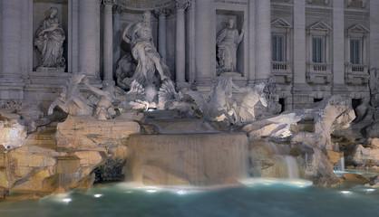 Wall Mural - Trevi Brunnen Rom