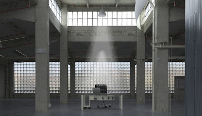 Grundge Office Coworking Openspace, Crisi, disoccupazione