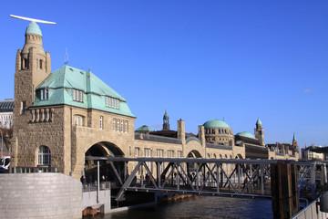 Hamburg Markthalle Landungsbrücken
