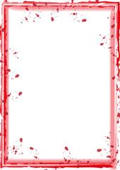 roter Rahmen