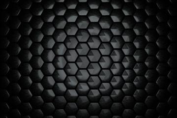 Abstract Hexagon Wall