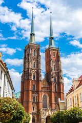 Wall Mural - Cathedral St. John in Wroclaw
