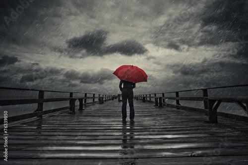 sad rainy movie scene - 800×533