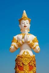 Thai graven image .