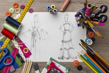 Fashion designer table