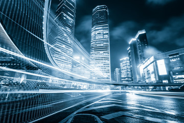 China modern city building