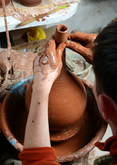 potter on work