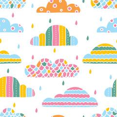 Kolorowe chmury. - 76351474