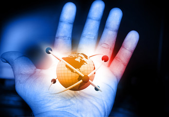 Atom in the hand ..