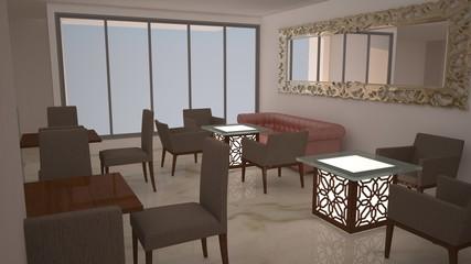 3D indoor design