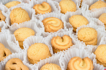 Danish Butter Cookies in set