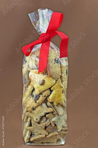 sachet biscuit noel Biscuit de Noël en sachet fait maison