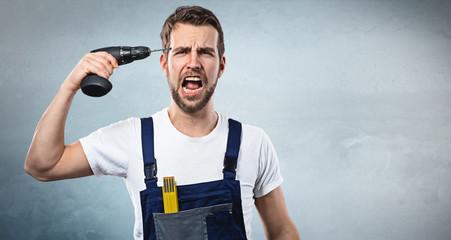 Heimwerker Frust