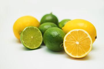 Fresh mix with lemon and lime