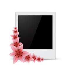 Photo frame Flower