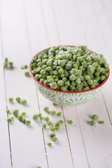 Frosen green peas