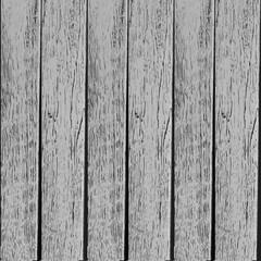 Old grey wooden planks texture vector