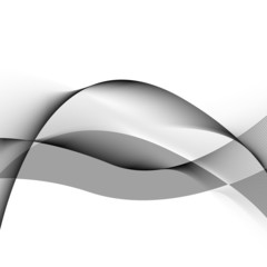 Gray Waves Background