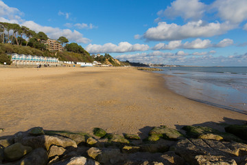 Branksome beach Poole Dorset England UK near Bournemouth