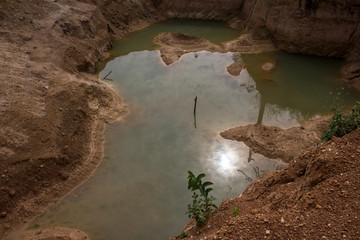 Diamantenmine in Sierra Leone