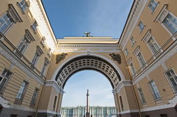 St. Petersburg Under Arches