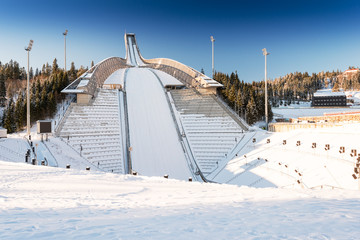 New Holmenkollen ski jump in Oslo