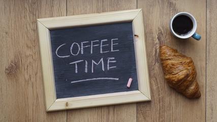 Coffee time written