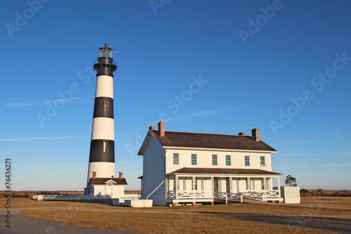 Bodie Island Lighthouse, Cape Hatteras National Seashore, North Carolina бесплатно