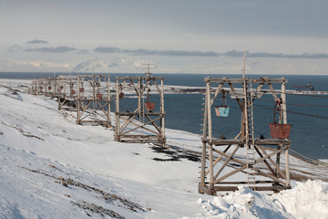 Bergbau auf Spitzbergen