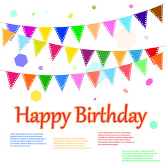 happy birthday to you - with place for your text