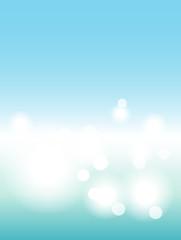 Blur background sea