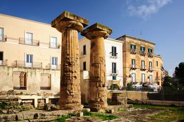 Taranto tempio Greco Arcaico