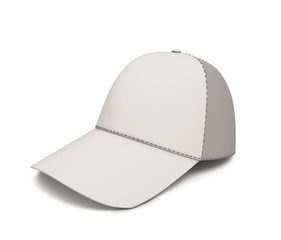 White baseball cap for your design