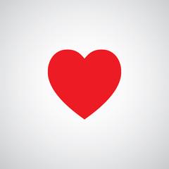 heart shape symbol design