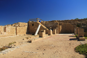 Hippodrome in Caesarea Maritima National Park