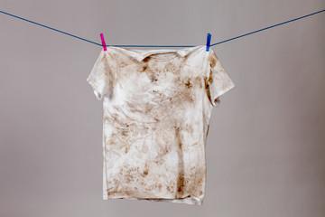 Obraz dirty shirt - fototapety do salonu