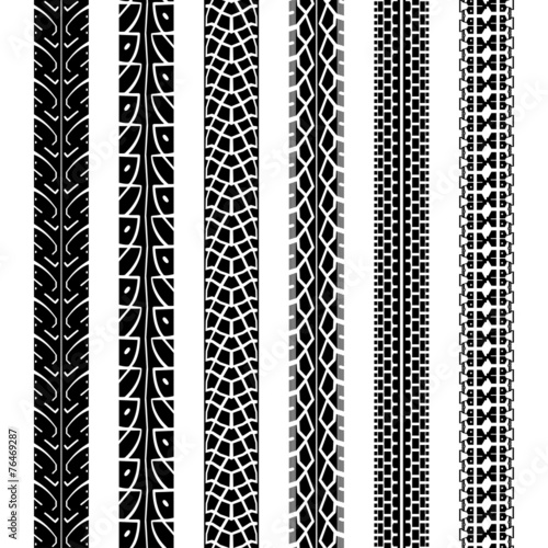 collection motorcycle tire tracks seamless texture stock image  royalty  vector files