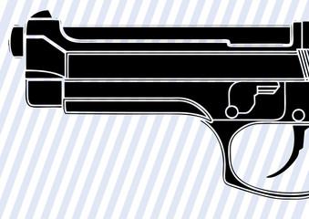 Canon d'un pistolet semi-automatique