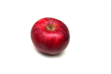 Red apple. Photo.