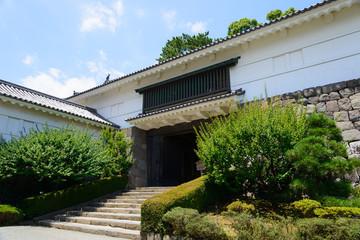 Odawara Castle Park in Kanagawa, Japan