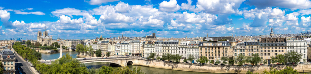 Seine and Notre Dame de Paris Fototapete