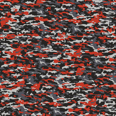 Gray and red camouflage