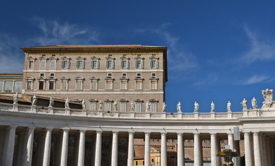Palazzo Apostolico in Saint Peter's square, ROme