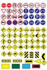Traffic-Road Sign Collection.
