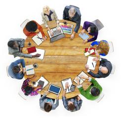 Designer Team Ideas Meeting Brainstorming Working Concept