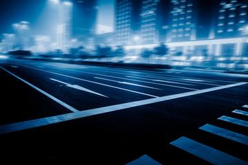 traffic night of city