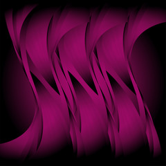 Abstract purple wavy background  template